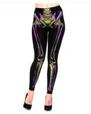 Skelett Leggings