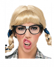 Nerd Zähne als Scherzgebiss