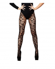 Black Cobwebs Net Pantyhose