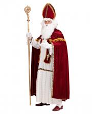 5-tlg Nikolauskostüm mit Bischofsmütze