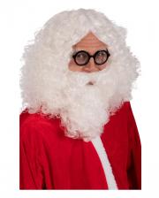 Santa Claus Wig And Beard