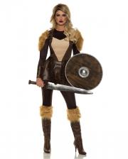 Nordische Kriegerin Kostüm