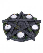 Occult Pentagram Tealight Holder