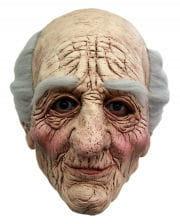 Grandpa Mask with grey hair