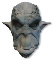 Ork mask foam latex blue-gray