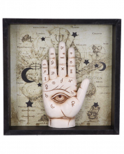 Palmistry Divination Hand Mural 20cm