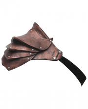 Gladiator shoulder armor brown
