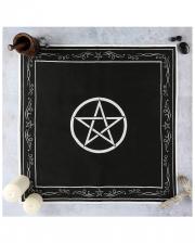 Pentagram Wicca Altar-Tuch 70x70 cm