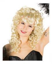 Langhaarperücke mit Locken blond