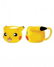 Pikachu Pokémon 3D Tasse
