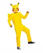 Pikachu Child Costume With Mask