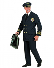Piloten Uniform Kostüm