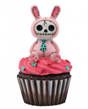 Pink Bun Bun - Furrybones Cupcake Schatulle