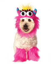 Pink Monster Hundekostüm