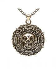 Piraten Amulett mit Halskette