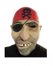 Piraten Maske mit Augenklappe