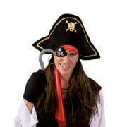 Pirate Wig with accessories