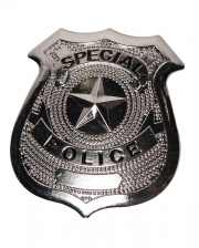 Police Badge Metall