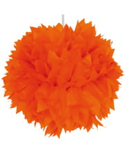 Pom-Pom Orange 30cm