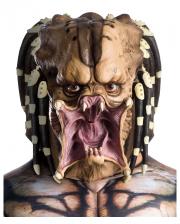 Predator Vollkopf Latexmaske für Erwachsene