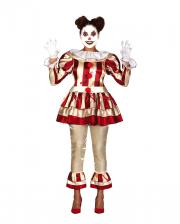 Pretty Killer Clown Ladies Adult Costume