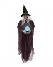Psychic Witch With Crystal Ball For Hanging Up