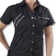 Punk shirt black