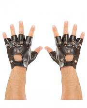 Punkrock & Biker Handschuhe mit Nieten