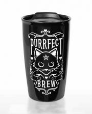 Purrfect Brew Togo Coffee Mug