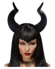 Dark maleficent fairy horns