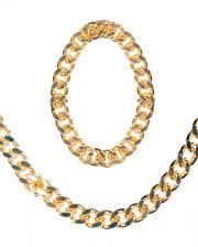 Rapper Goldkette und Armband