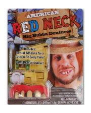 Redneck Acryl Zähne