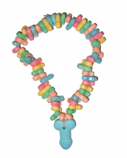 Retro Penis Candy Necklace