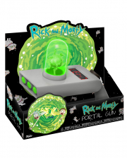 Rick and Morty Portal Gun mit Projektion