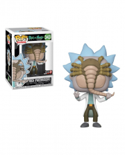 Rick with Facehugger - EXKLUSIV Funko Pop! Figur