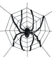 Giant Spider In A Web 240 Cm
