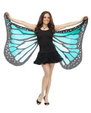 Giant Butterfly Wings Blue