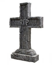 RIP Gravestone Cross Halloween Decoration