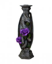 Rosen Drache Kerzenständer