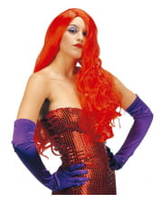 Red Longhair Wig Jessica