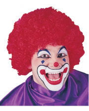 Clown Wig Carnival Wig red