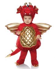 Roter Drache Kleinkinderkostüm