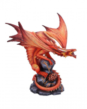 Red Fire Dragon Decoration Figure