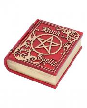 Red Book Of Spells Casket