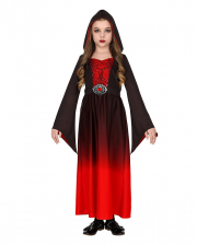 Red Gothic Girl Children Costume