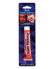 Professionelles Cream Make Up rot