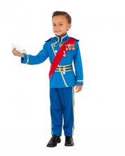 Royaler Prinz Charming Kinder Kostüm