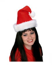 Santa Claus Cap Royal with plush edge