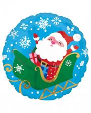 Santa Claus Weihnachts Folienballon