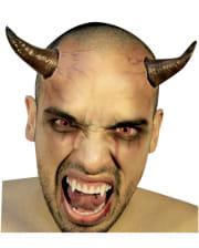 Satan's horns brown-black